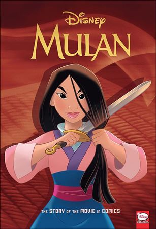 Disney Mulan: The Story of the Movie in Comics 1-A