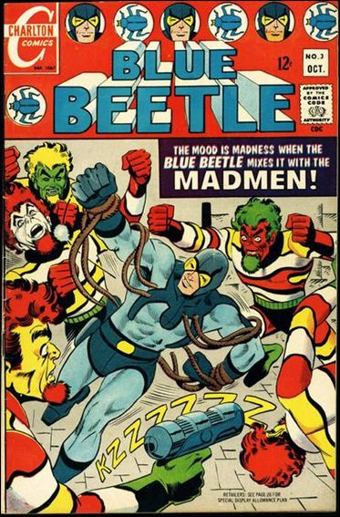 Blue Beetle (1967) 3-A by Charlton