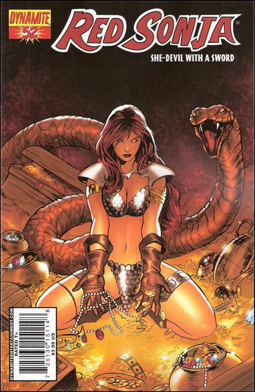 Red Sonja (2005) 52-A by Dynamite Entertainment