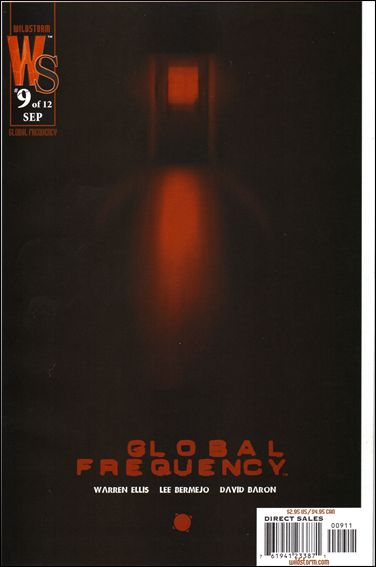 Global Frequency 9-A by WildStorm