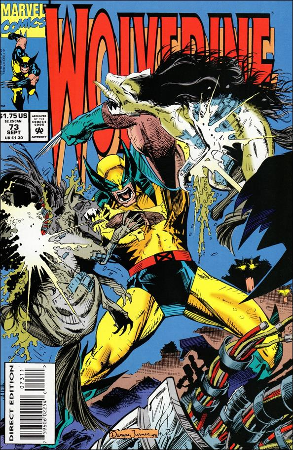 Wolverine (1988)  73-A by Marvel