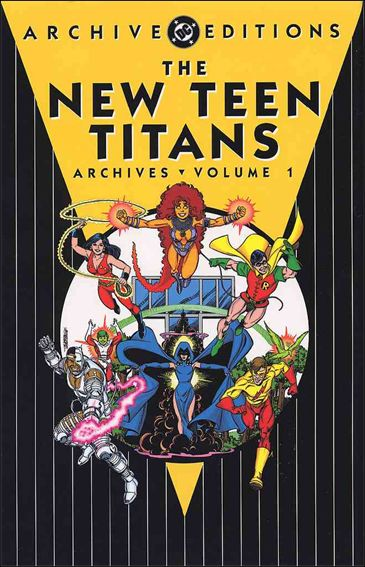 New Teen Titans Archives 1-A by DC
