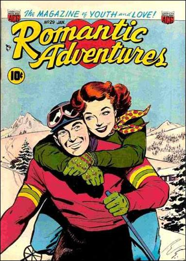 Romantic Adventures 29-A by American Comics Group (ACG)
