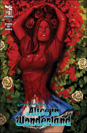 Grimm Fairy Tales Presents Alice in Wonderland 5-A by Zenescope Entertainment