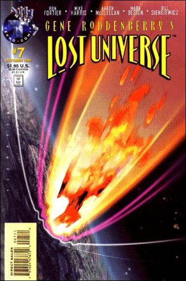Gene Roddenberry's Lost Universe 7-A by Tekno•Comix