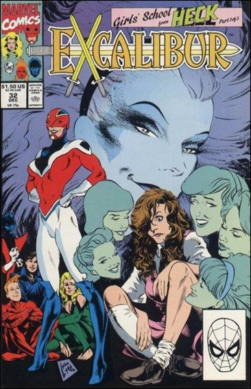 Excalibur (1988) 32-A by Marvel