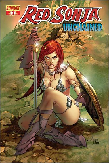 Red Sonja: Unchained 1-C by Dynamite Entertainment