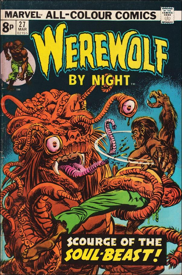 Werewolf by Night (1972) 27-B by Marvel