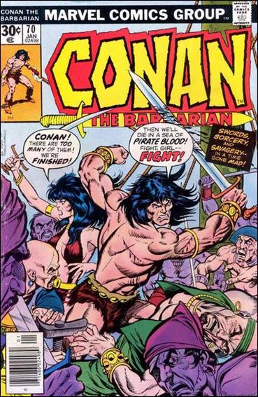 Conan the Barbarian (1970) 70-A by Marvel