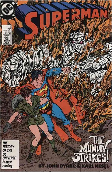 Superman (1987) 5-A by DC
