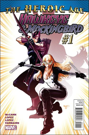 Hawkeye & Mockingbird 1-A by Marvel