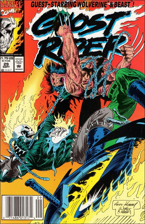 Ghost Rider (1990) 29-A by Marvel