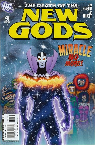 Death of the New Gods 4-A by DC