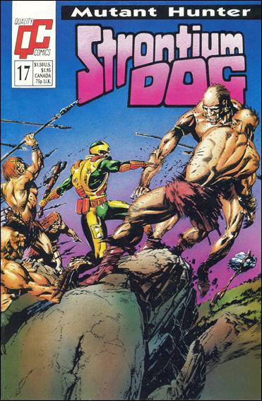 Strontium Dog (1987) (UK) 17-A by Quality Comics
