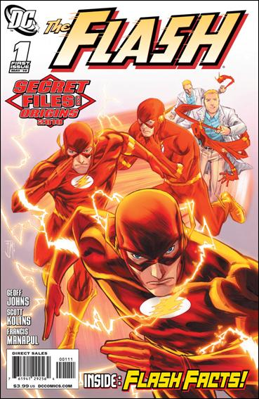 Flash Secret Files and Origins 2010 1-A by DC