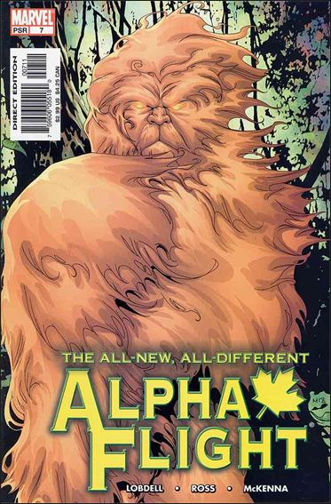 Alpha Flight (2004) 7-A by Marvel