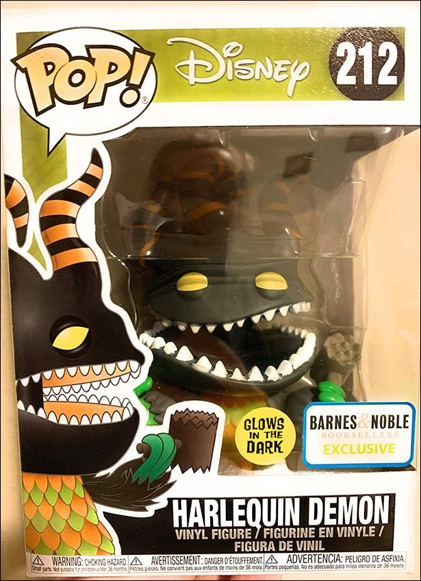 POP! Disney Harlequin Demon (Glow) Barnes & Noble by Funko