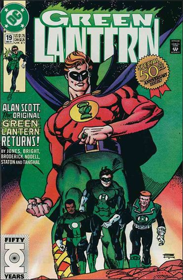 Green Lantern (1990) 19-A by DC