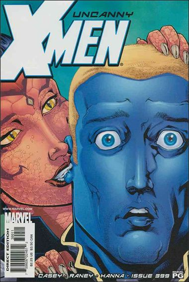 Uncanny X-Men (1981) 399-A by Marvel