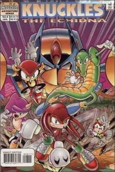 Knuckles 8-A by Archie