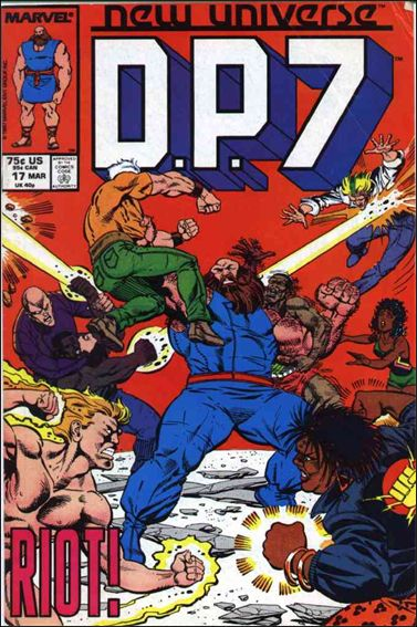 D.P.7 17-A by Marvel