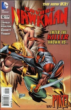 Savage Hawkman 12-A