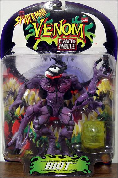 Venom: Planet of the Symbiotes Riot (Purple) by Toy Biz
