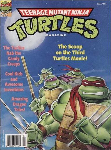 Teenage Mutant Ninja Turtles Magazine 9-A by Welsh Publishing Group