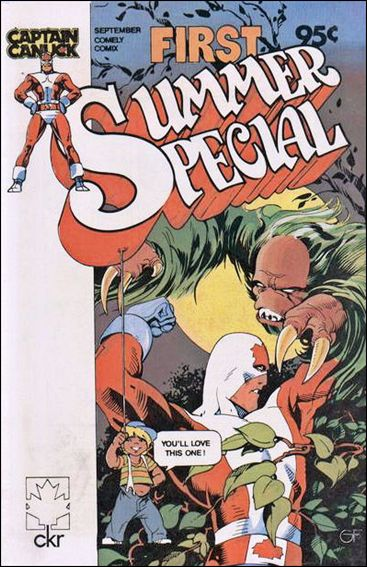 Captain Canuck: First Summer Special 1-A by Comely Comix
