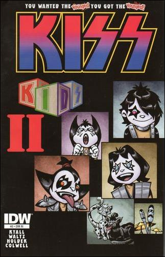 KISS Kids 2-B by IDW