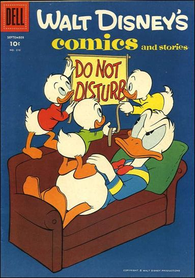 Walt Disney's Comics and Stories (1940) 216-A by Dell