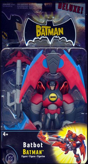 Batman (Deluxe Figures) Batbot Batman by Mattel