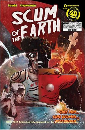 Scum of the Earth (2014) 3-A