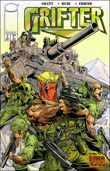Grifter (1996) 3-A by Image