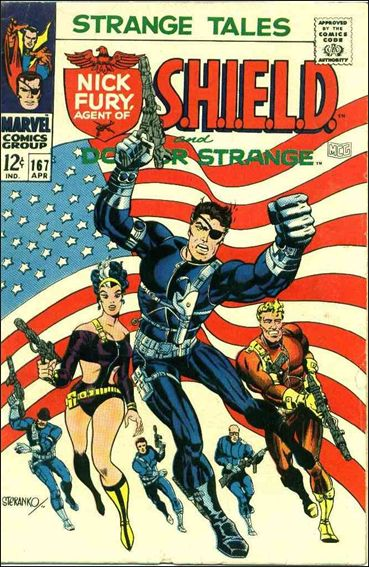 Strange Tales (1951) 167-A by Marvel
