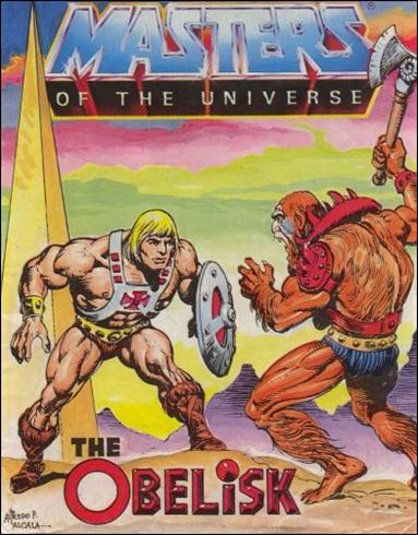 Masters of the Universe (1983) 4-A by Mattel