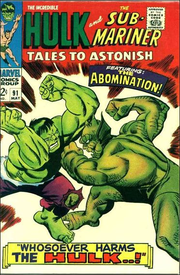 Tales to Astonish (1959) 91-A by Marvel