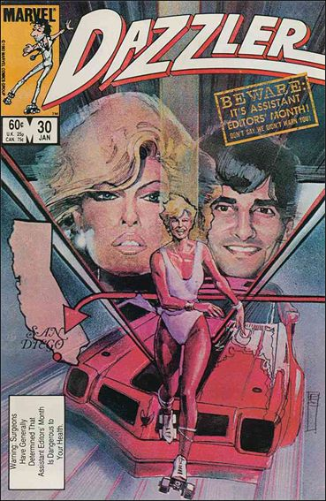 Dazzler (1981) 30-A by Marvel