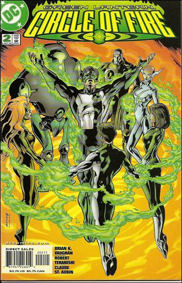 Green Lantern: Circle of Fire 2-A by DC