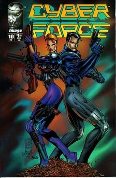 Cyberforce (1993) 10-A by Image