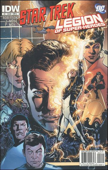 Star Trek/Legion of Super-Heroes 2-A by IDW