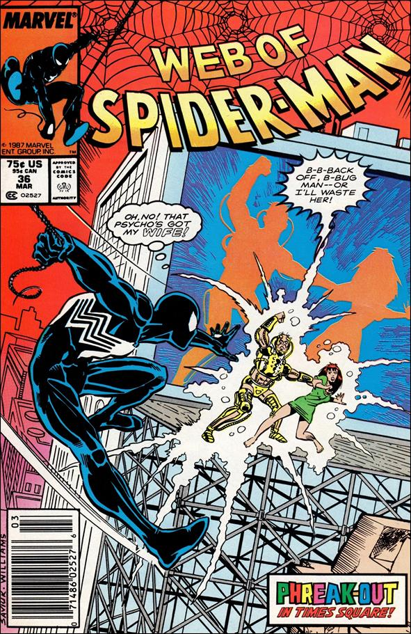 Web of Spider-Man (1985) 36-A by Marvel