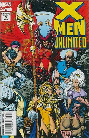 X-Men Unlimited (1993) 5-A