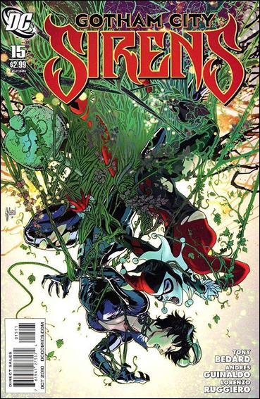 Gotham City Sirens 15-A by DC