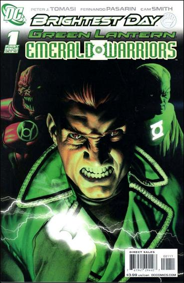 Green Lantern: Emerald Warriors 1-A by DC