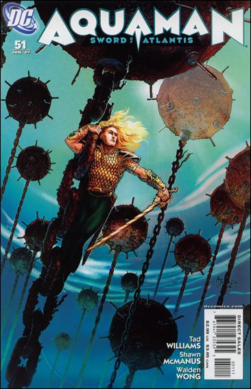 Aquaman: Sword of Atlantis 51-A by DC
