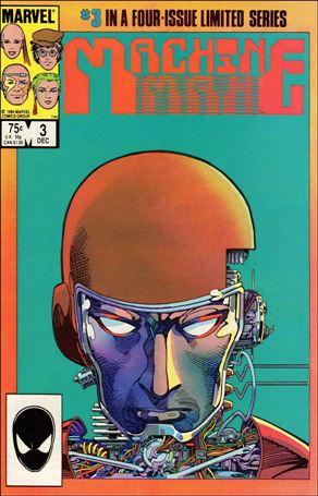 Machine Man (1984) 3-A