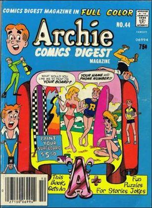 Archie Comics Digest Magazine 44-A