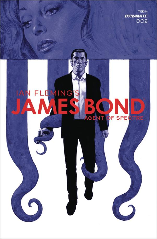 James Bond: Agent of Spectre 2-C by Dynamite Entertainment