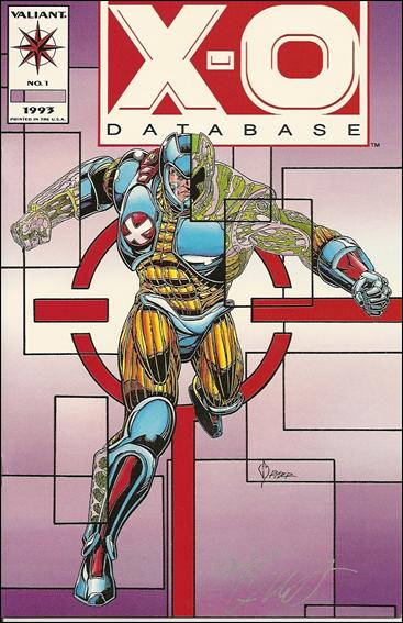 X-O Database 1-B by Valiant